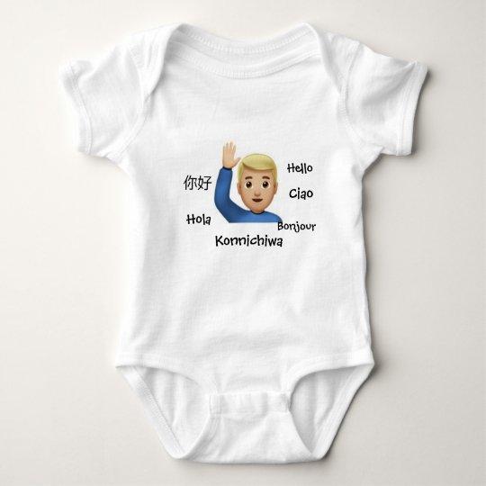 Hello Baby Bodysuit