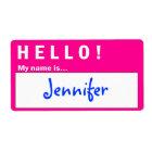 Hello Badge Name Badge Labels