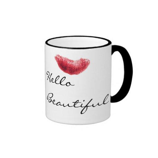 hello beautiful mugs