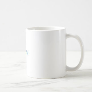 HELLO BEAUTIFUL RAINBOW CALLIGRAPHY COFFEE MUG