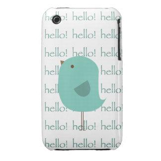 Hello Bird Case-Mate iPhone 3 Case
