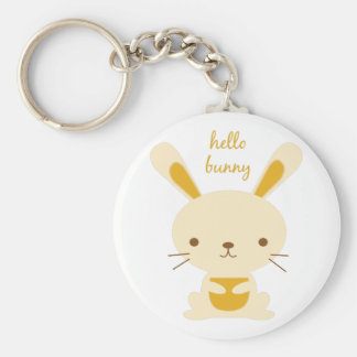 Hello Bunny Key Chains