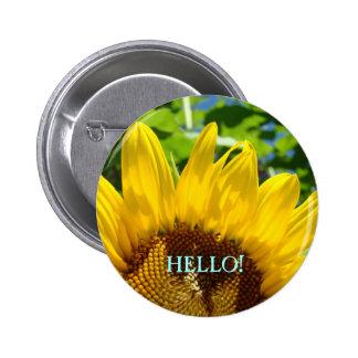HELLO buttons Sunflowers button Business Office