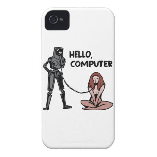 Hello, Computer iPhone 4 Case-Mate Cases