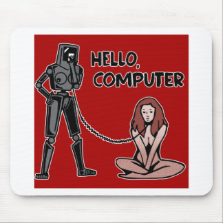 Hello, Computer Mouse Pad