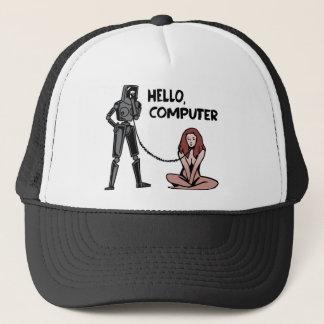 Hello, Computer Trucker Hat