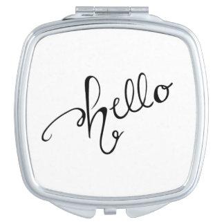 Hello Cosmetic Mirror Compact Mirrors