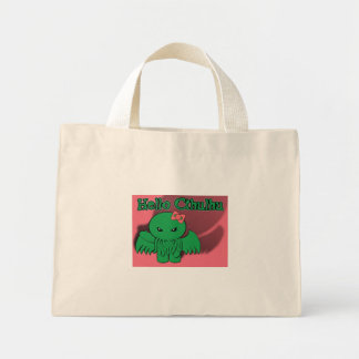 Hello Cthulhu Mini Tote Bag