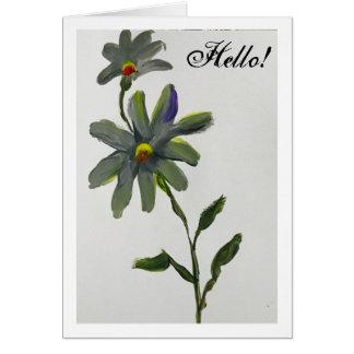 Hello Daisy Card