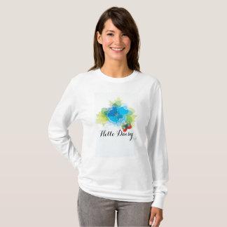 Hello Daisy Women's Basic Long Sleeve T-Shirt