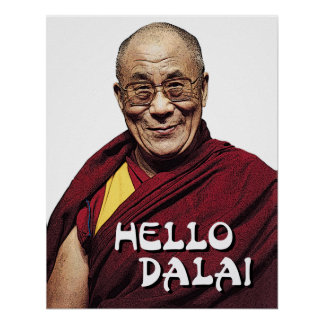 Hello Dalai poster