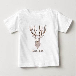 Hello Deer Baby T-Shirt