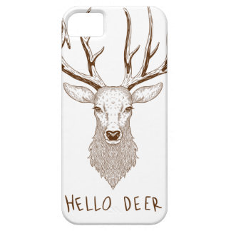 Hello Deer Barely There iPhone 5 Case