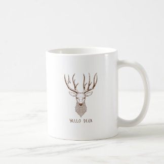 Hello Deer Coffee Mug