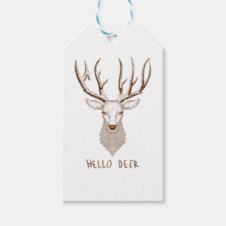 Hello Deer Gift Tags