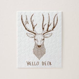 Hello Deer Jigsaw Puzzle