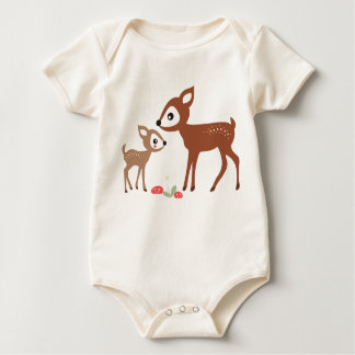 Hello Deer! Organic Infant Creeper