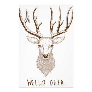 Hello Deer Stationery