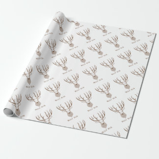 Hello Deer Wrapping Paper