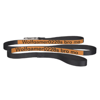 Hello do you like the youtube person Wolfgamer0228 Pet Leash