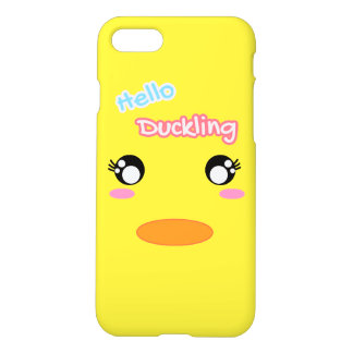 Hello Duckling Yellow Duck Face Cute Case