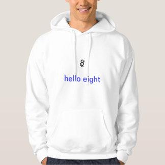hello eight hoodie