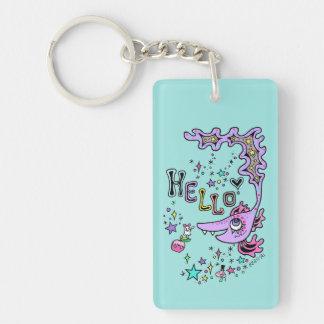Hello Fish☆1 Key Ring