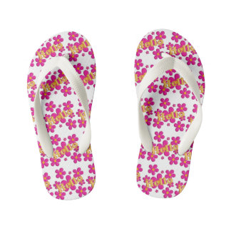 Hello. floral nursery pattern. thongs