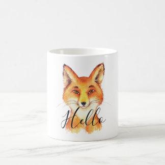 Hello Fox Coffee Mug