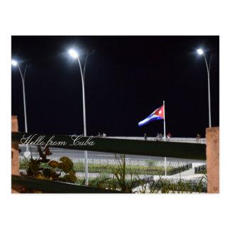 Hello from Cuba Postcard
