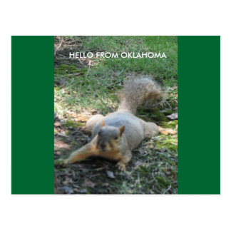 HELLO FROM OKLAHOMA POSTCARD