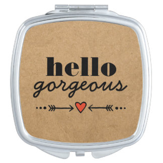 Hello Gorgeous - Rustic Flattering to Every Face Makeup Mirror