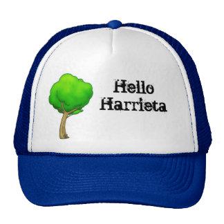 Hello Harrieta Cartoon Tree Cap