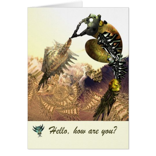 Hello how are you card by Anjo Lafin