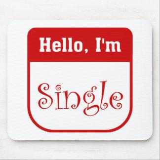 Hello I m single mousepad