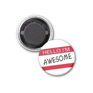 Hello Im Awesome Fridge Magnets