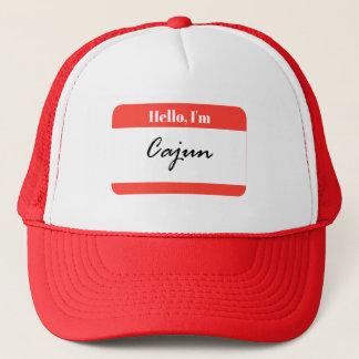 Hello, I'm Cajun Louisiana Trucker Hat