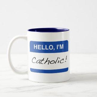 Hello, I'm Catholic Mug