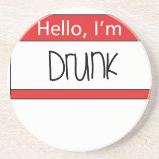 Hello, I'm drunk Coasters