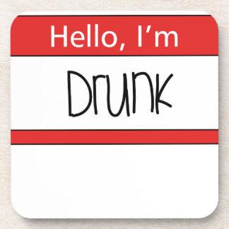 Hello, I'm drunk Coaster