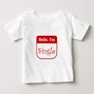Hello, I'm single infant t-shirt
