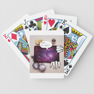 Hello, I'm Vegan Bicycle Playing Cards