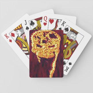Hello In Flames Poker Deck