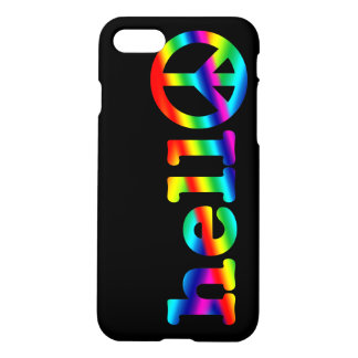 Hello in Peace iPhone 7 Case