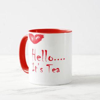 """Hello..It's Tea"" mug"