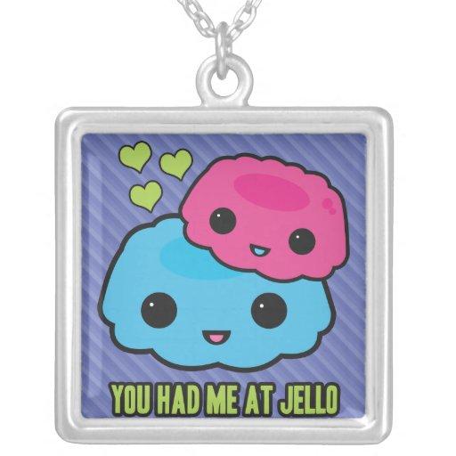Hello Jello Necklaces