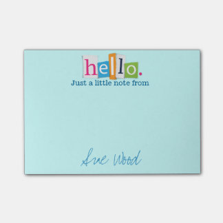 Hello, Just a Little Note Post-it® Note)
