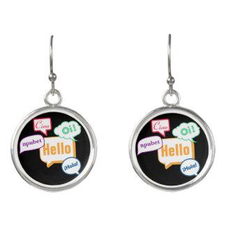Hello | Languages Earrings