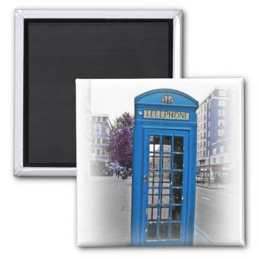 Hello London telephone booth Refrigerator Magnet