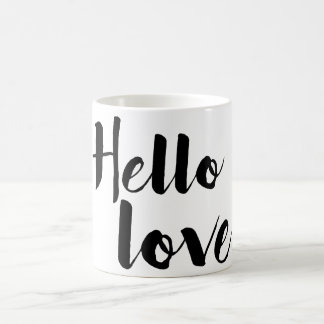Hello Love Coffee Mug